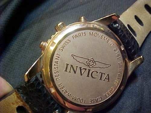 Relógio Invicta 316 L Suiço Unissex