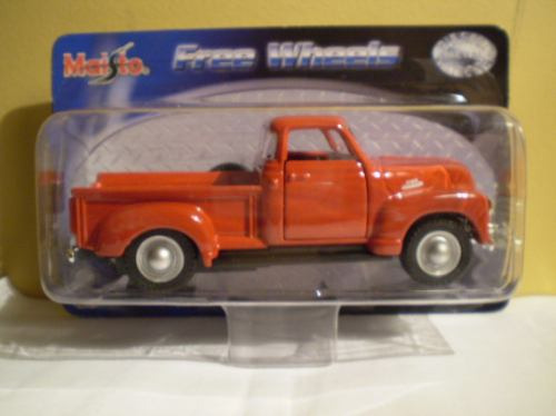 Maisto Free Wheels `53 Chevrolet 3100 - Escala 1/36