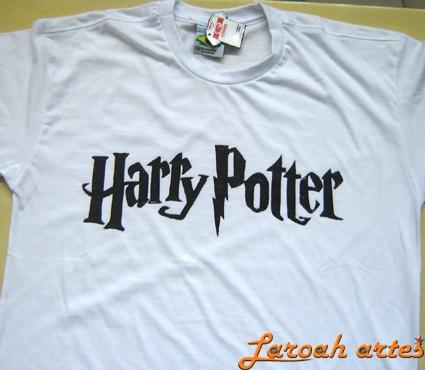 Camiseta Ou Baby Harry Potter Filme - Logo - Lana Camisetas