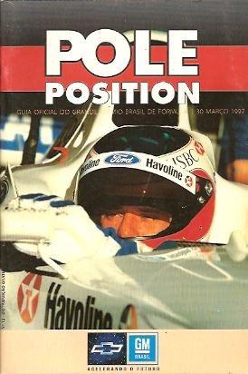 Pole Position Nº 12 Guia Oficial Gp Brasil F 1 - 1997