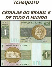 Brasil 1 Cruzeiro C129 Fe Cédula - Tchequito