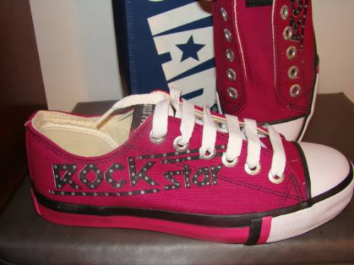 Tenis All Star Pink 37 Diferente
