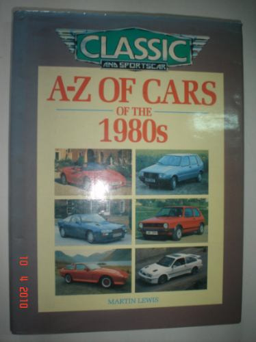 Livro A-z Of Cars Of The 1980 Classic And Sportscar Auto Car
