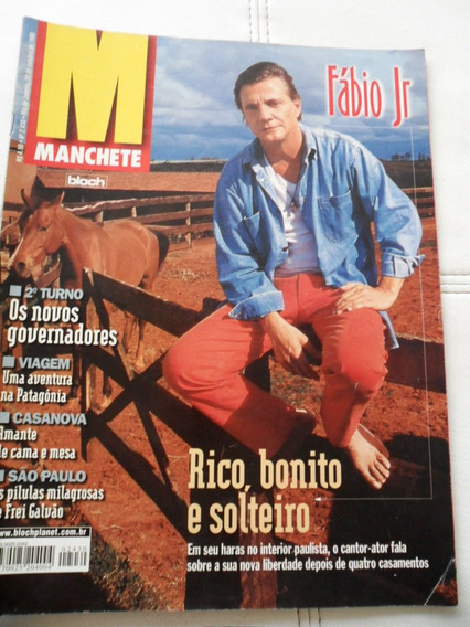 Revista Manchete - Fábio Jr (frete Grátis)