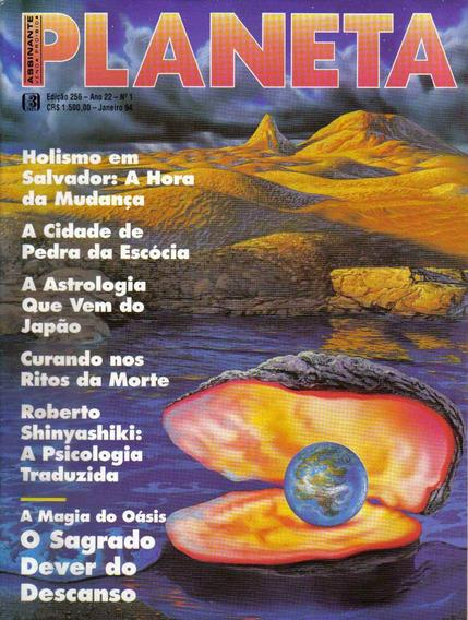 Revista Planeta Nº256 - Janeiro/94 (esoterismo, Ocultismo)