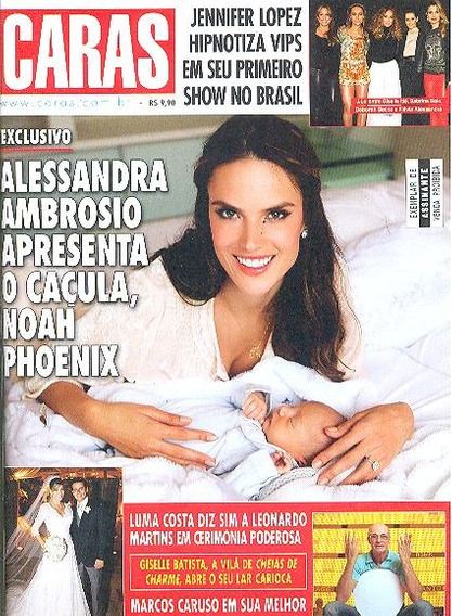 Caras 973: Alessandra Ambrosio / Paulo Zulu / Paulo Rocha