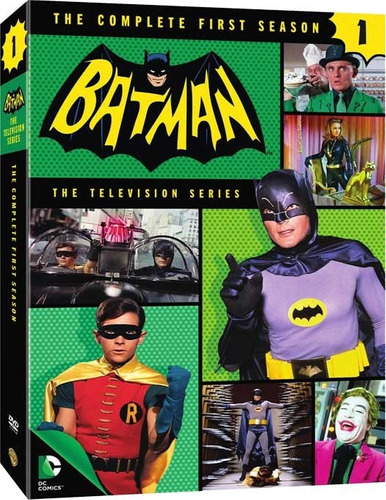 Imagen 1 de 3 de Serie Completa Batman 1966 Dvd Rosario Envios A Todo El Pais