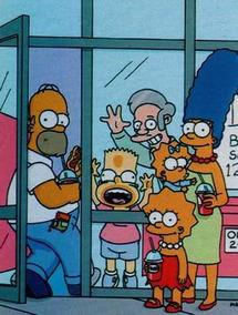 Os Simpsons - Lote De Recortes Originais - Homer Bart