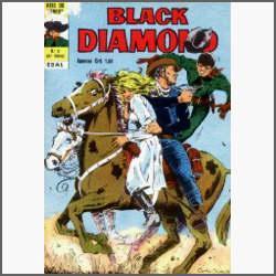 Black Diamond Nº 9: Na Ilha Do Terror - Ebal - 1975 - Hq