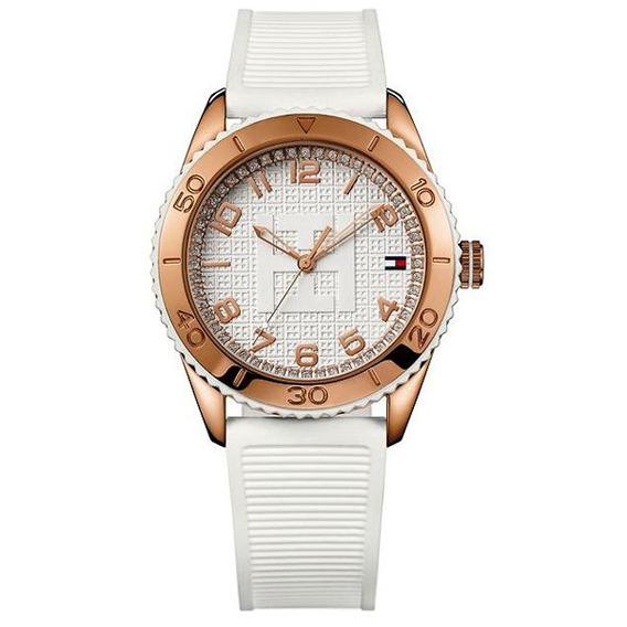 Relógio Tommy Hilfiger Th1781121 Orig Anal White!!!