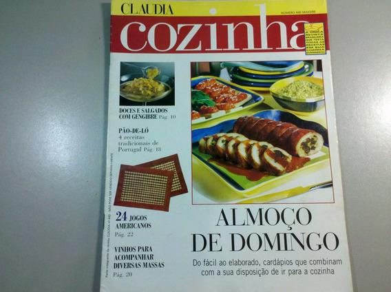Revista Claudia Cozinha N.440 Almoço De Domingo