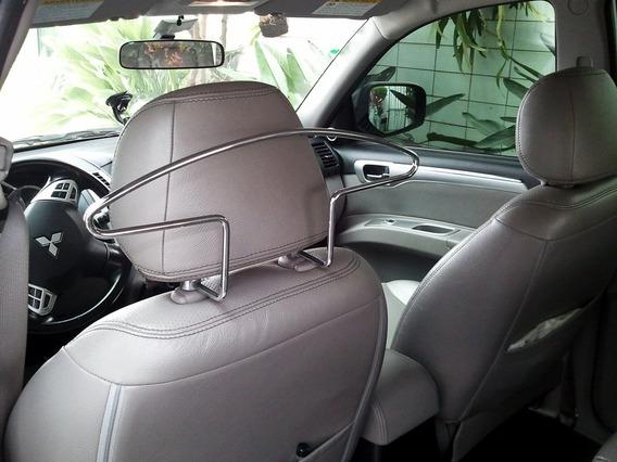 Cabide Automotivo Cromado - Acessorio Para Carro Porta Terno