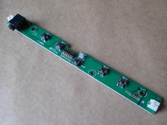 Placa Circuito Botão Iniciar Monitor Hp 17 Polegadas L176v