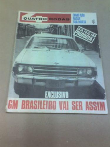 Revista Quatro Rodas - Nº89 - Dezembro De 1967