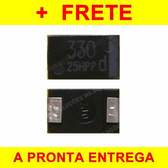 6x Smd Capacitor Tântalo 330uf 2.5v - 330 Uf 2.5 V