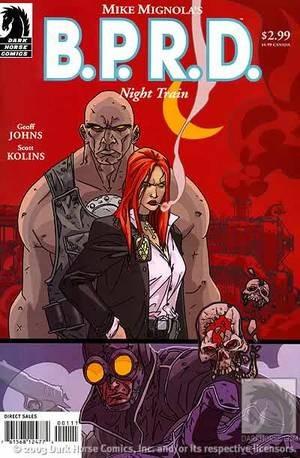 Bprd Night Train (2003) Hellboy