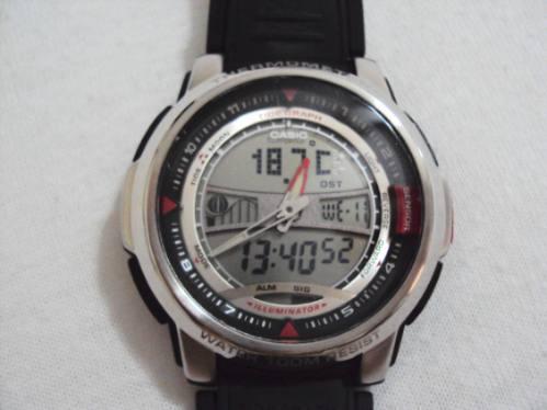 Relógio Casio Digital E Analógico