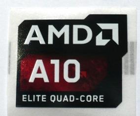 Adesivo Original Amd A10 Elite Quad-core