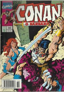 076 Revista Hqs 1993- Rvt- Conan O Bárbaro- Nº. 36- Duende