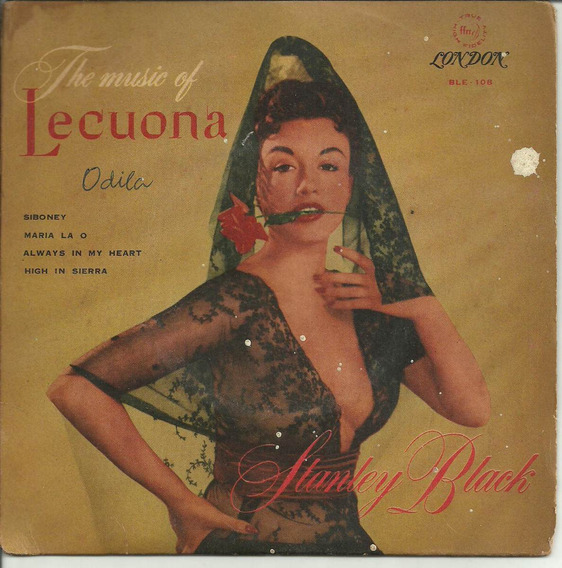 The Music Of Lecuona Stanley Black Compacto De Vinil