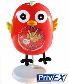 Lindo Relógio Infantil De Pássaro - Love Bird Clock - Quartz