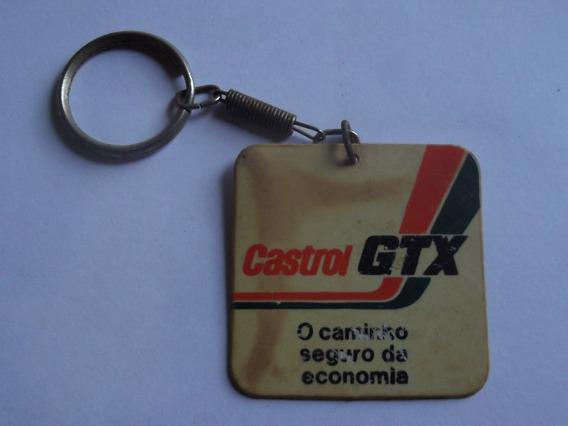Chaveiro Oleo Castrol Gtx - Sebastião De Medeiros Pereira