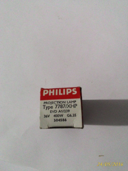 Lampada Philips 36v 400w Evd A1/239 Original Made In Germany