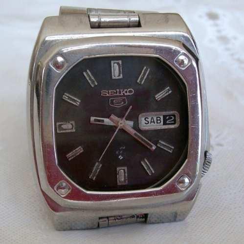 Relógio De Pulso Masculino Automático Seiko 21 Jewels .
