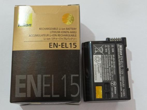 Bateria Nikon En-el15 El15 D600 D800 D7000 1v1