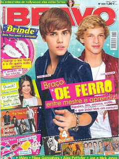 Bravo 334: Justin Bieber & Cody Simpson / Alex Pettyfer