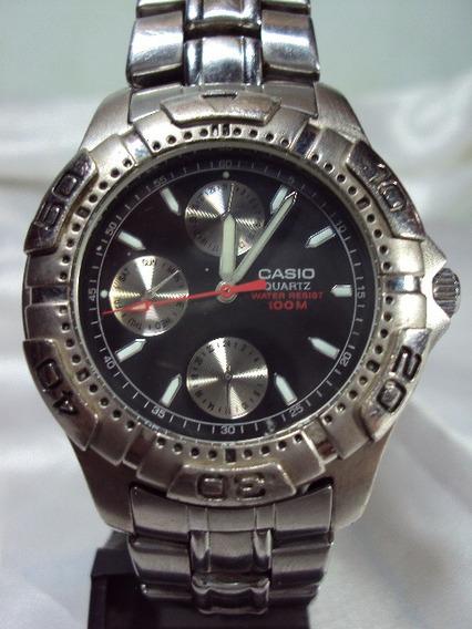 Relógio Casio Quartz 100m Garantia Relogiodovovô.