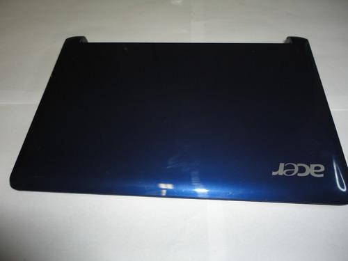 Carcaça Da Tela Netbook Acer Aspire One Zg5