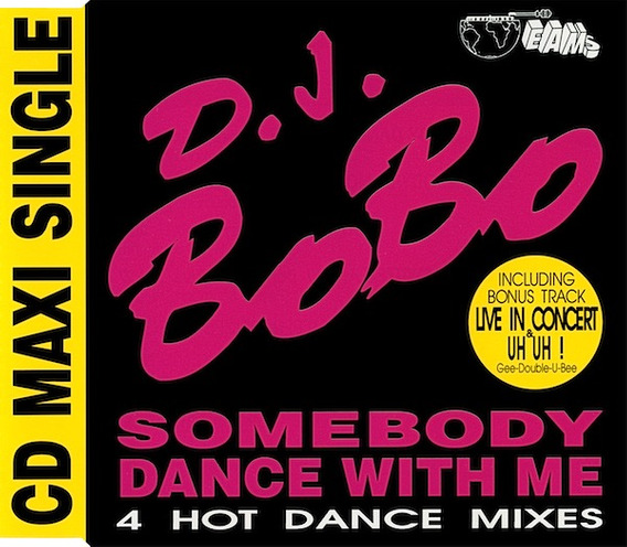 Cd Single D.j. Bobo - Somebody Dance With Me