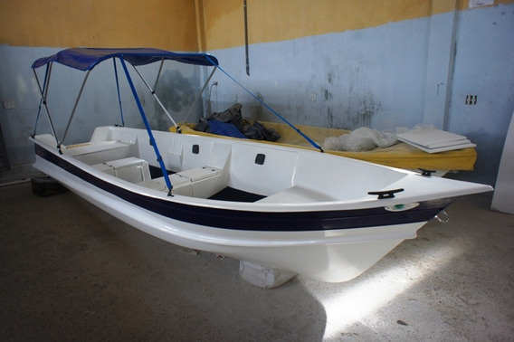 Barco Bote Lancha Fibra Capota 5,60 Artsol 40 Anos Fabrica