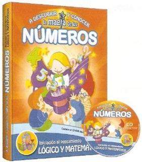 Libro A Descubrir Y Conocer La Magia De Los Números Cd