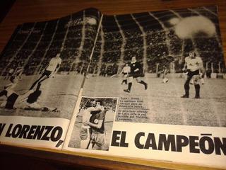El Gráfico 2881 - San Lorenzo Campeon / Lamina Temperley