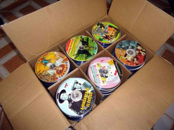500 Dvds Para Artesanato Somente