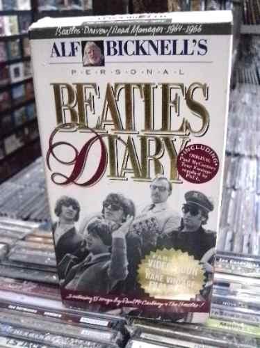 Beatles Diary Box Imp 2 Fitas Vhs Bem Conservado