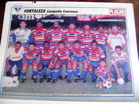Mini Poster Fortaleza Campeão Ceará 1991 Placar Frete Gratis