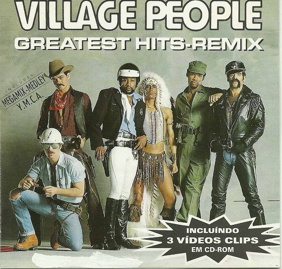 Village People - Greatest Hits-remix