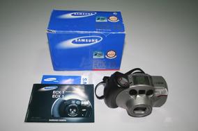 Câmera Analógica 35mm Samsung Ecx 1s Af Zoom Panorama Macro