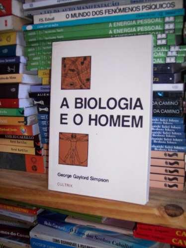 A Biologia E O Homem, George Gaylord Simpson