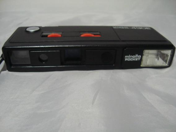 Antiga Camera Fotografica Minolta Pocket Autopak 430e