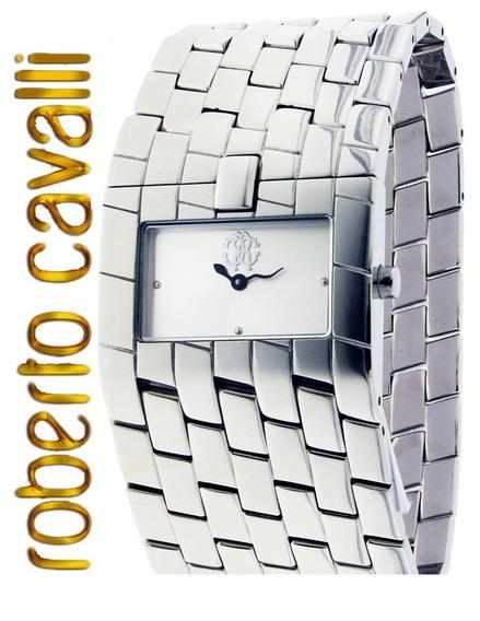 Roberto Cavalli Relogio Feminino Cleavage Silver R7253182515