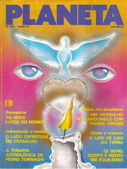 Revista Planeta Nº220 - Janeiro/91 (esoterismo/ocultismo)