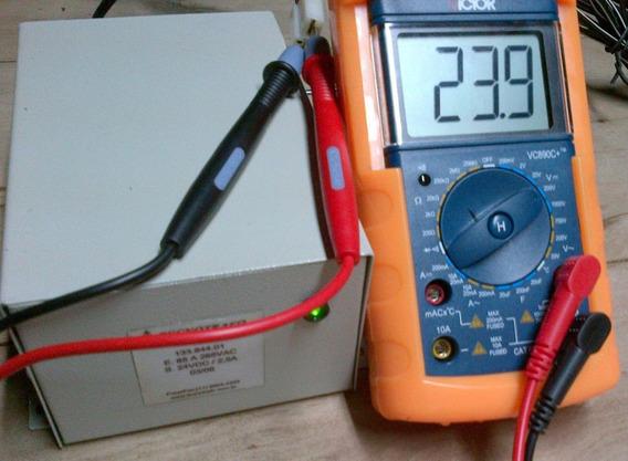 Fonte 24 Volts Dc 2,5 Amperes Entrada 110-220vac