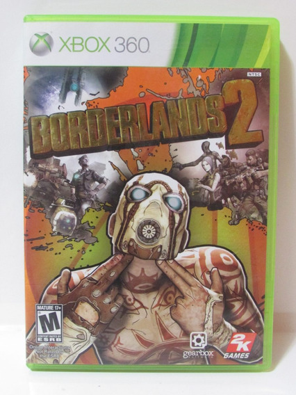 Borderlands 2 - Game Original Xbox 360 Americano Completo