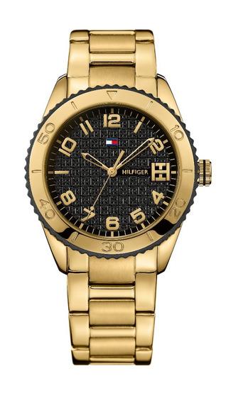 Relógio Luxo Tommy Hilfiger Th1781147 Orig Anal Gold Black!!