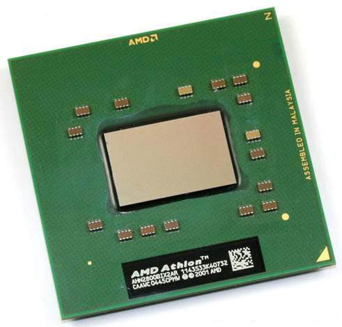 Imagem 1 de 1 de Processador Sempron Móbile 2800