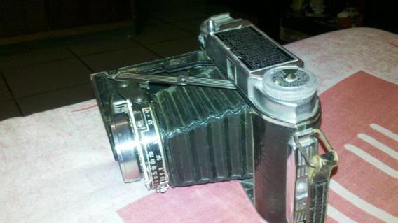 Antiguidade Camera Alemã Frauka Solid Lll Ano 1951 Linda